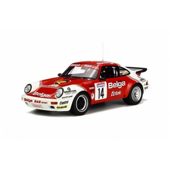 Porsche 911 SC RS Rallye Ypres 1985 1:18