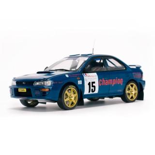 Subaru Impreza 555 3rd Tour de Corse Rallye de France 1996 M.Massarotto/Y.Bouzat