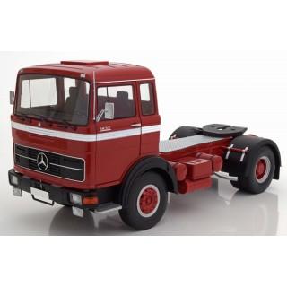 Mercedes LPS 1632 1969 Red Black White 1:18