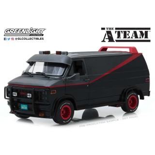 "1983 GMC Vandura ""The A-Team"" (1983-87 TV Series) 1:18"