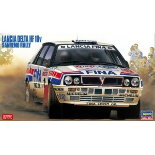 Lancia Delta Hf Integrale Team Jolly Club 1991 San Remo Rally Kit 1:24