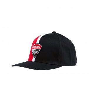 Ducati Corse Cappellino Baseball Nero Marlboro