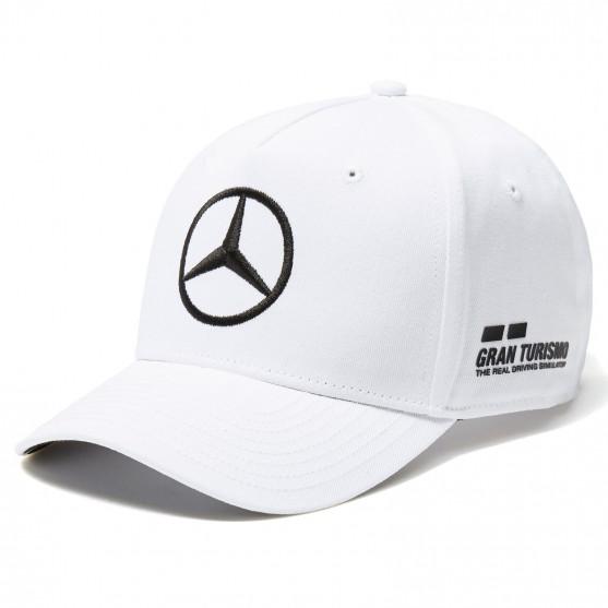 Mercedes-Amg Petronas F1 2018 Cappello Lewis Hamilton Bianco