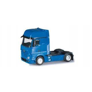 Mercedes-Benz Actros Gigaspace blu 1:87