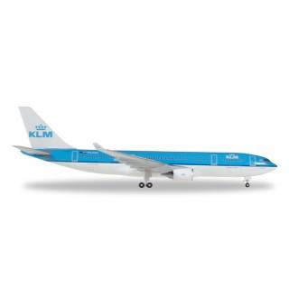 "KLM Airbus A330-200 PH-AOM ""Piazza San Marco Venezia"" 1: 500"