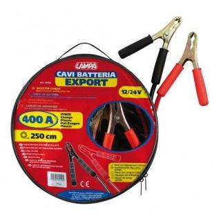 Cavi batteria Export 12/24V 250 cm 400A