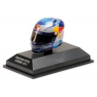 Sebastian Vettel Arai Helmet 2011 Red Bull Racing Istanbul Gp 1:8