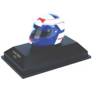Alain Prost Shoei Helmet 1991 Ferrari 1:8
