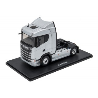 Scania S500 2017 Artic Silver Road 1:43