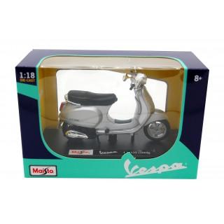 Vespa Piaggio LX 125 2005 Silver 1:18