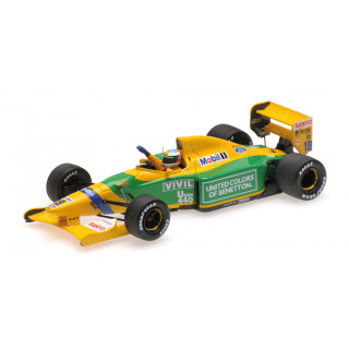 Benetton Ford B192 F1 1992 Belgian Gp First Victory Michael Schumacher 1:43