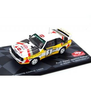 Audi Sport Quattro Rallye Monte Carlo 1985 W. Rohl - C. Geistdorfer 1:433