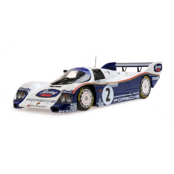 Porsche 962 Winner 1000km Hockenheim 1985 Stuck-Bell 1:18