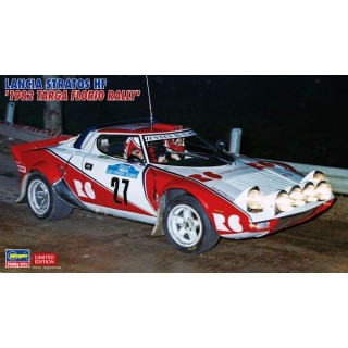 Lancia Stratos HF 1982 Targa Florio Rally Kit 1:24