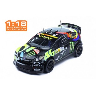 Ford Fiesta RS WRC 46 Rallye Monza 2012 V.Rossi - C.Cassina black 1:18