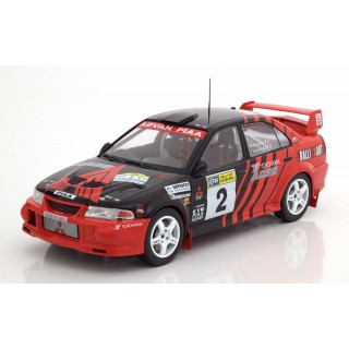 Mitsubishi Lancer Evo VI winner 1999 Rallye of Canberra 1:18