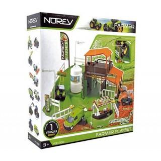 Norev Playset Farmer + 1 Mini-Jet