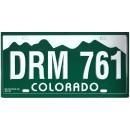 Colorado DRM 761 Targa Metallica Replica