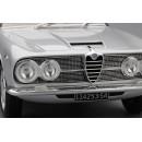 Alfa Romeo 2600 Sprint 1962 Light Silver 1:18