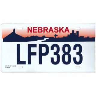 Nebraska LFP 383 Targa Metallica Replica