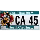 South Carolina CA 45 Targa Metallica Replica