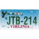 Virginia JTB 214 Targa Metallica Replica
