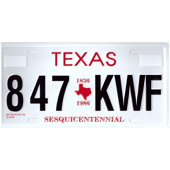 Texas 847 KWF Targa Metallica Replica