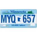 Minnesota MYQ 657 Targa Metallica Replica