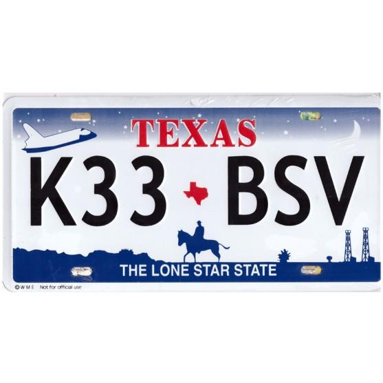 Texas K33 BSV Targa Metallica Replica