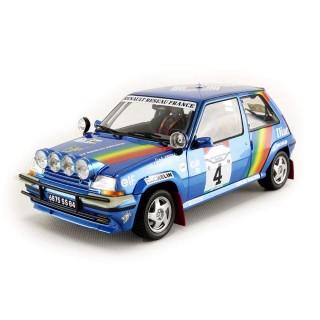 "Renault Supercinq GT Turbo ""Rally Cote D'Ivoire 1990"" Oreille - Rossard 1:18"