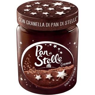 Pan di Stelle Crema Spalmabile alle Nocciole e Cacao con Granella di Biscotto 330 gr