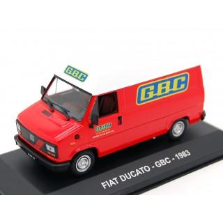 """Fiat Ducato 1983  """"GBC"""" 1:43"""