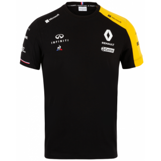 Renault Team F1 T-Shirt Black 2019