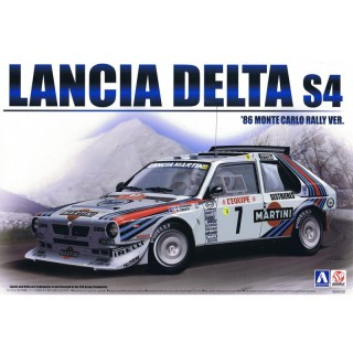 Lancia Delta Hf Integrale 16v 1989 Rally San Remo Kit 1:24
