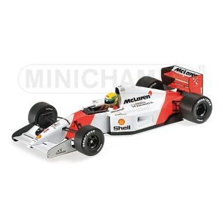 Mclaren Honda MP4/7 F1 1992 Ayrton Senna 1:18