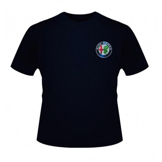 Alfa Romeo Team F1 T-Shirt Front Logo Blue 2019