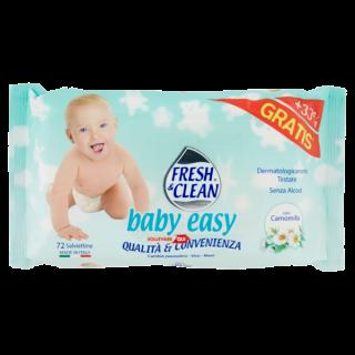 Fresh & Clean baby easy Salviettine con Camomilla 72 pz
