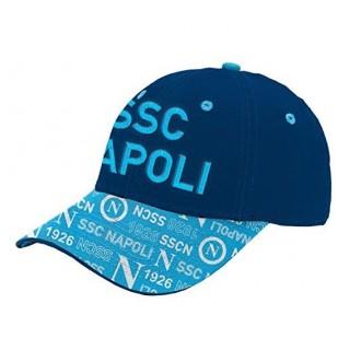 SSC Napoli berretto Enzo Castellano Navy - Cyan