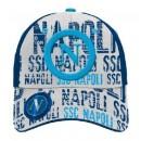 SSC Napoli berretto Enzo Castellano Navy - White