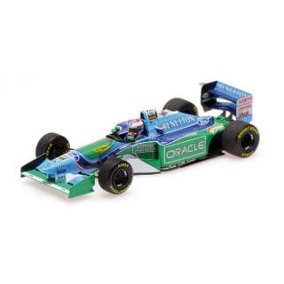 Benetton Ford B194 Jos Verstappen British Gp 1994 1:43