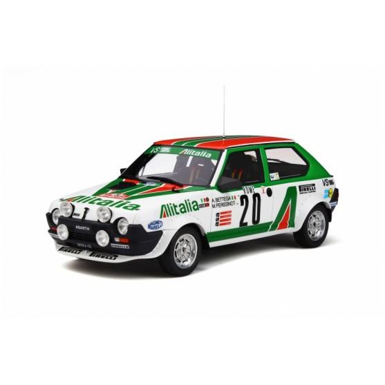 Fiat Ritmo Abarth Alitalia Gr.2 Rallye Monte Carlo 1979 1:18