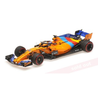 McLaren Renault MCL33 F1 2019 Abu Dhabi GP Last Race Fernando Alonso 1:43