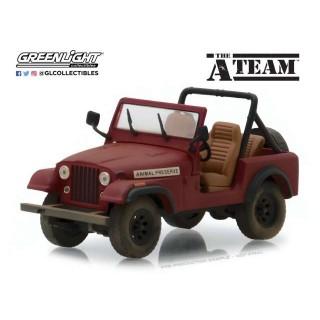 "Jeep CJ-7 1981 Animal Preserve ""The A-Team"" Film 1:43"