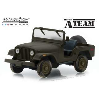 """Jeep CJ-5 """"The A-Team"""" Film 1:43"""