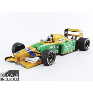 Benetton Ford B192 F1 3rd Italy GP Michael Schumacher 1:18