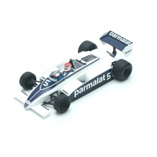 Brabham Ford Cosworth BT49C Argentina GP 1981 World Champion Nelson Piquet 1:18