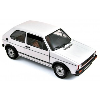 Volkswagen Golf GTI 1977 White 1:18