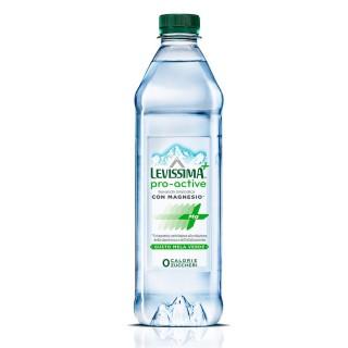 Levissima + Pro Power Acqua Minerale Naturale Levissima e Magnesio 60cl gusto Mela Verde