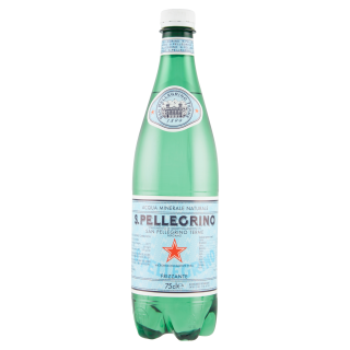 San Pellegrino Acqua Minerale Naturale Frizzante 75cl