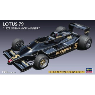 Lotus 79 Ford Cosworth DFV Winner German GP 1978 Kit 1:20